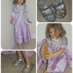 My Fancy Princess: Silver Sequin Dress Up Shoes