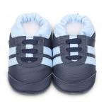 ShooShoos: Navy/Sky Sport Soft Sole Shoes