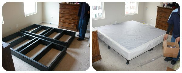 set up of the top mattress was also fast but we ran into quite a road block here our mattress cover was ripped and our delivery team did not have another - Sleep Number Bed Frame