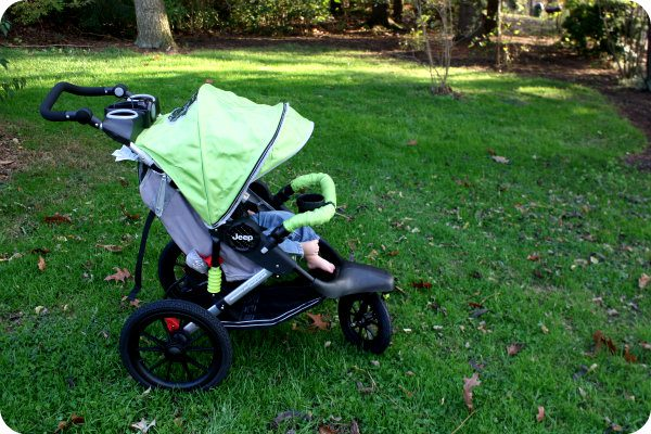 J is for Jeep Wrangler Sport Jogger - Real Mom Reviews