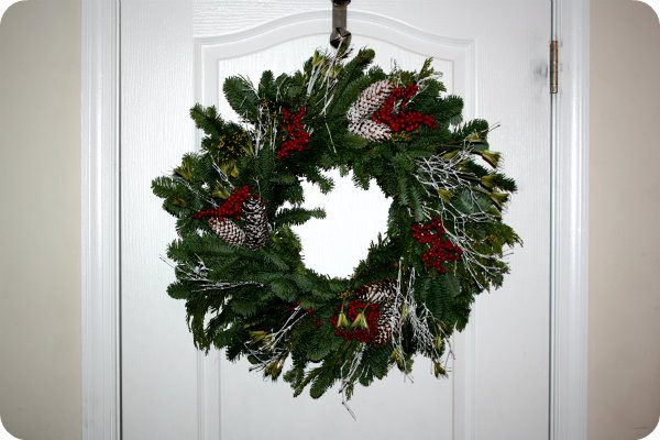 North west fresh christmas wreath for 49 99 from wreathsfordoor com