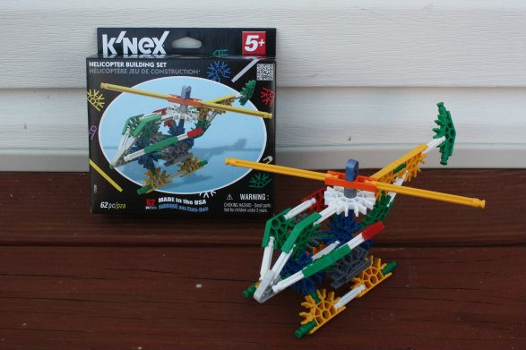K'NEX Helicopter Classic Build Set