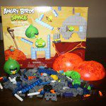"Angry Birds Space: Red Planet ""Hogs on Mars"" Building Set"