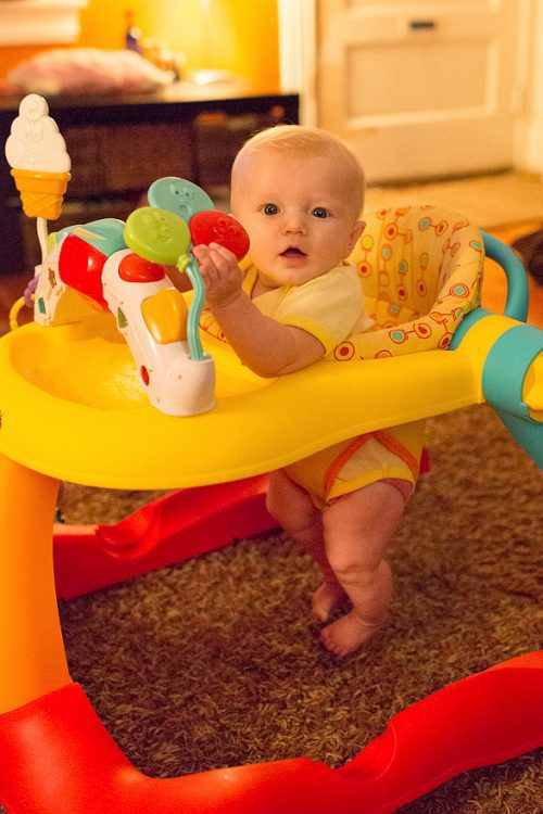 5 Months For Baby Toys : Kolcraft tiny steps in walker real mom reviews