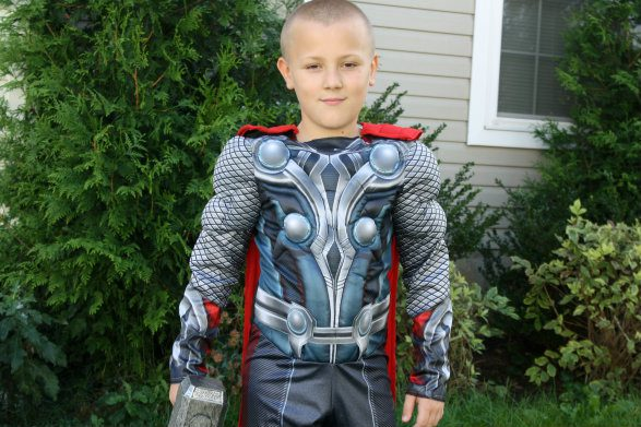 Thor Avengers Muscle Costume