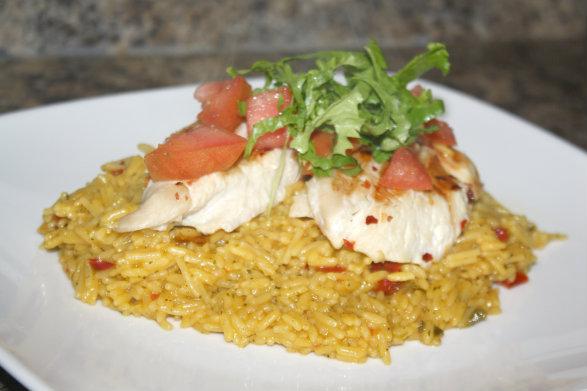 Fiesta Lime Chicken Rice