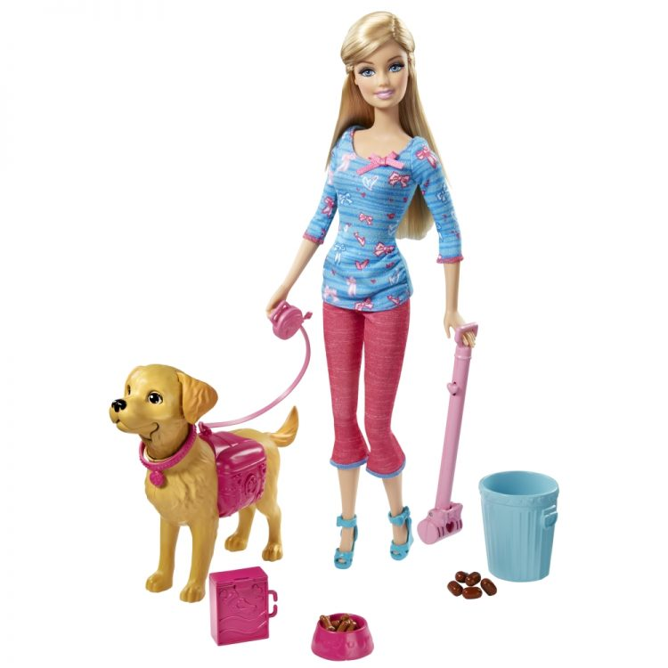 Barbie Dog Training Set