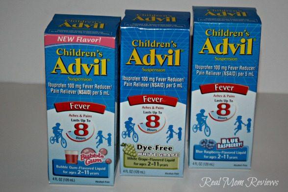 Children's Advil- Now In New flavors!
