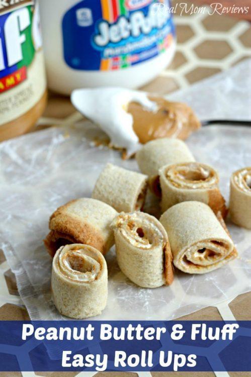 Peanut Butter & Fluff Roll Ups