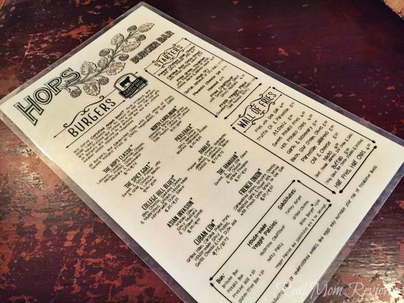 Hops Burger Bar - Greensboro, NC - Real Mom Reviews