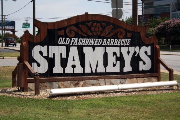 We Aren T Huge Bbq So During Our Stay In Greensboro Decided Would Pick Only One Restaurant Choose To Try Stamey S And Regretted Every