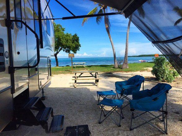 Ocean Front RV Site