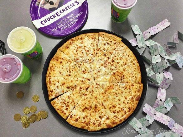 Chuck E. Cheese New Pizza