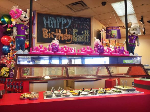 Book A Chuck E Cheese Birthday Party And Your Kid Becomes