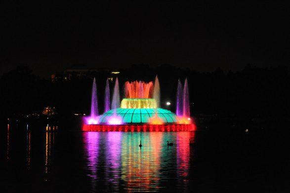 Lake Eola Park Fountain